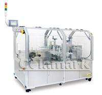 Small carton diagonal seal labeling machine