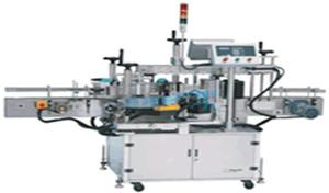 Double-sided automatic labeling machine